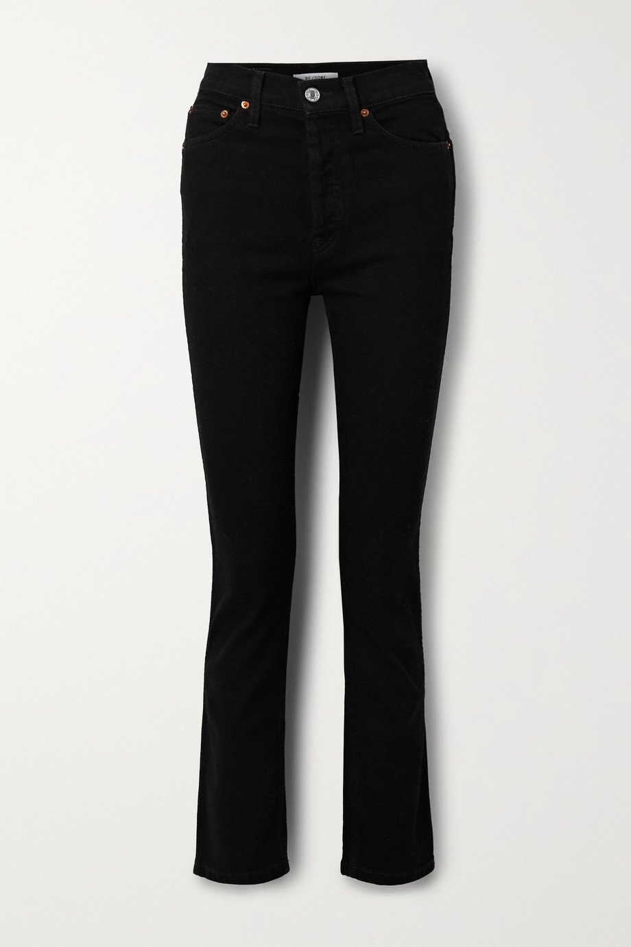 RE/DONE Jean slim taille haute 80s