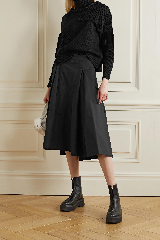 Cecilie Bahnsen Pullover aus Baumwolle und glänzendem Jacquard