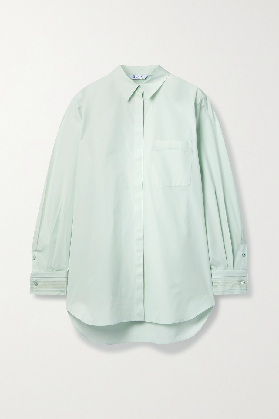 Loro Piana Desiree cotton-poplin shirt