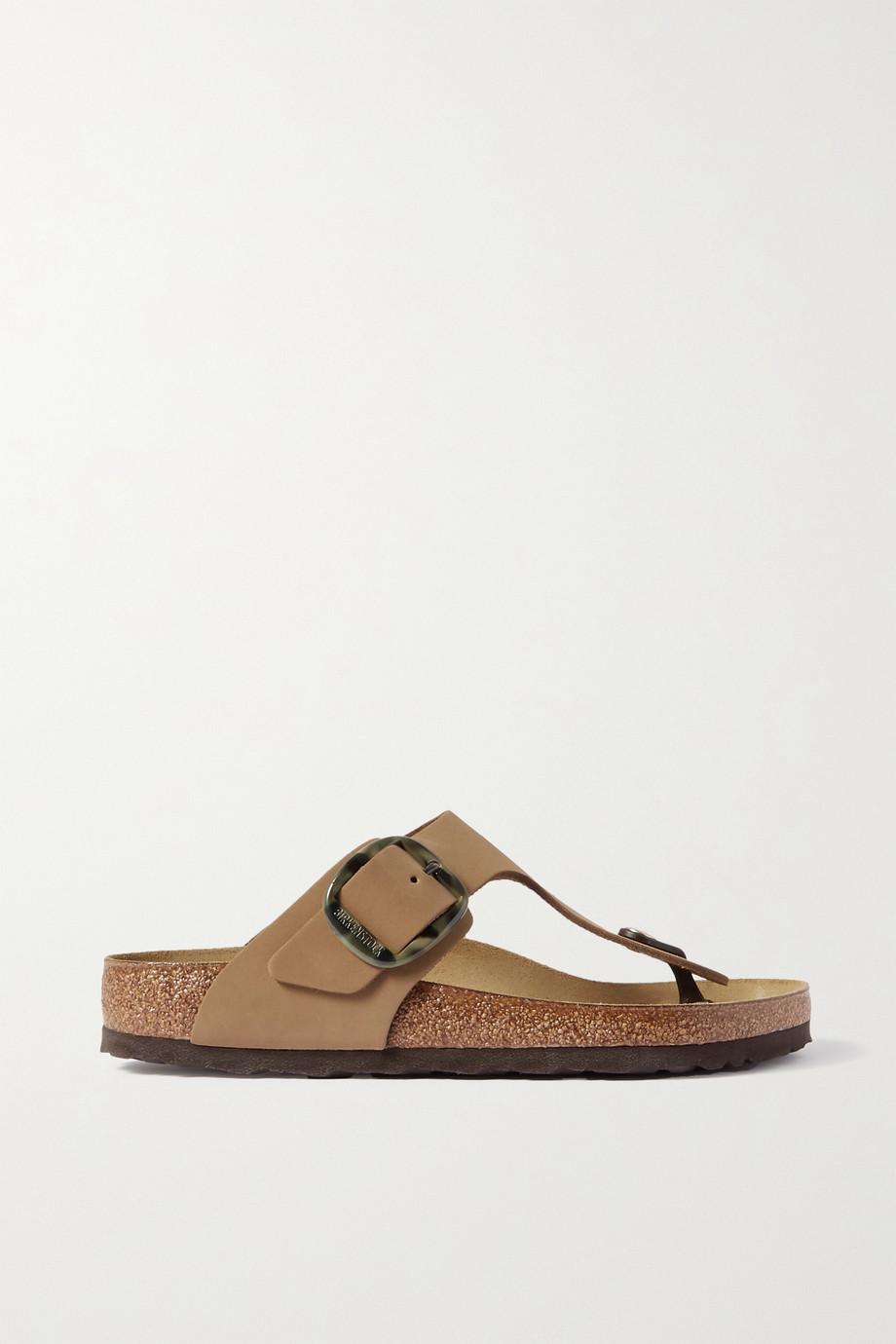 Birkenstock Gizeh nubuck sandals