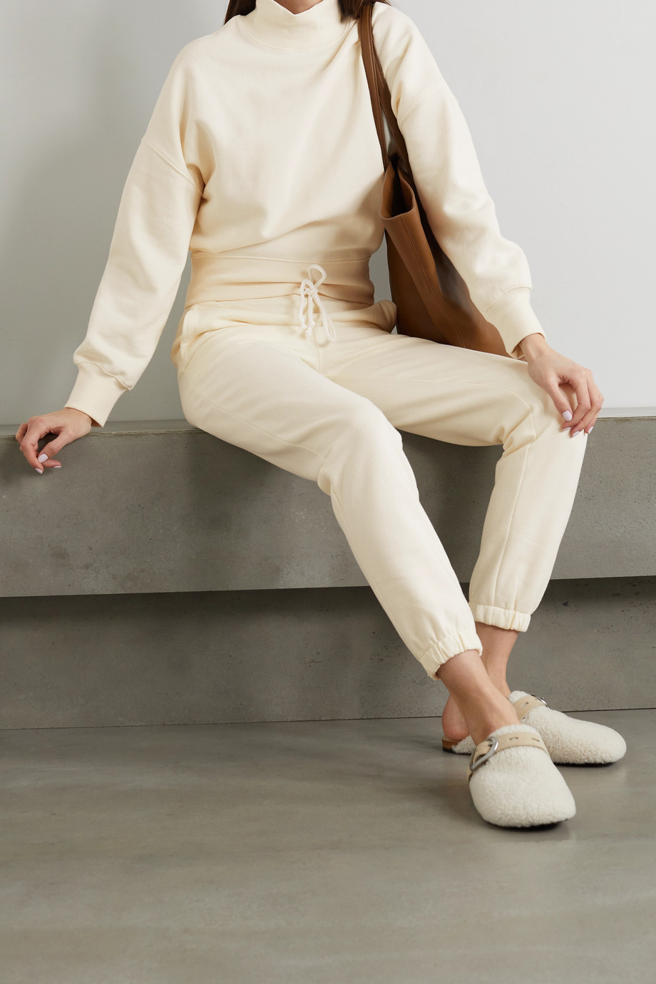 Rails Blaire cotton-blend jersey sweatshirt and track pants set