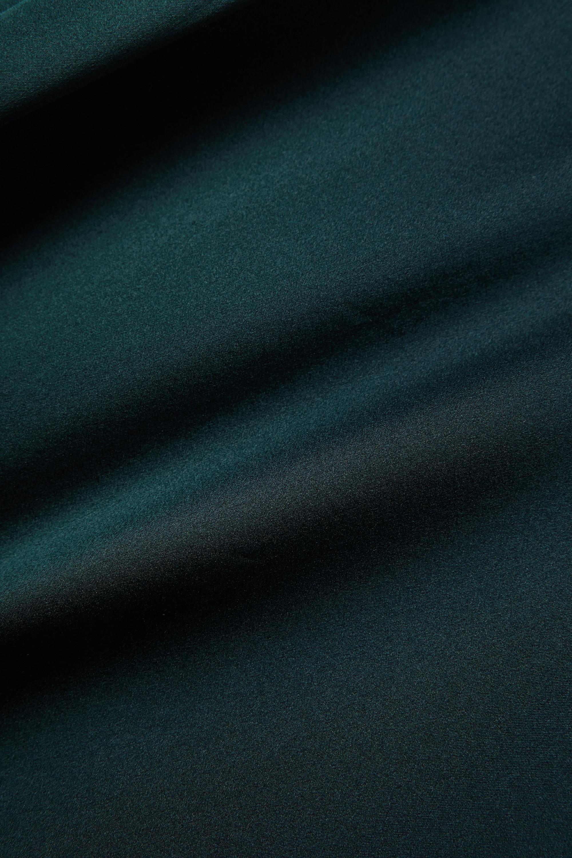 Sablyn Sutton Bluse aus Seidensatin mit Stehkragen