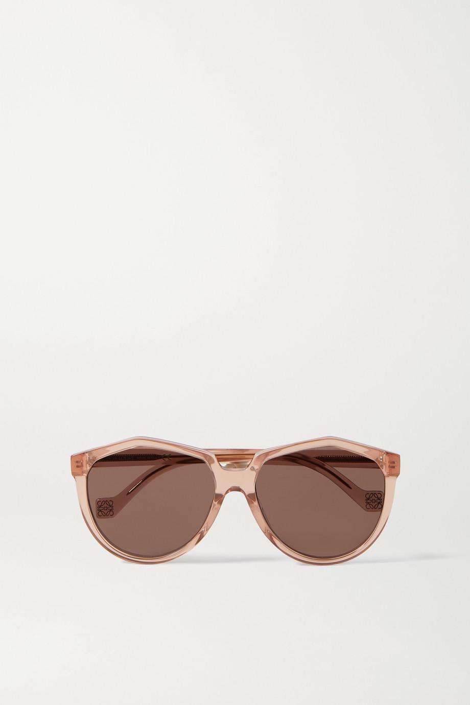 Loewe Sonnenbrille mit rundem Rahmen aus Azetat