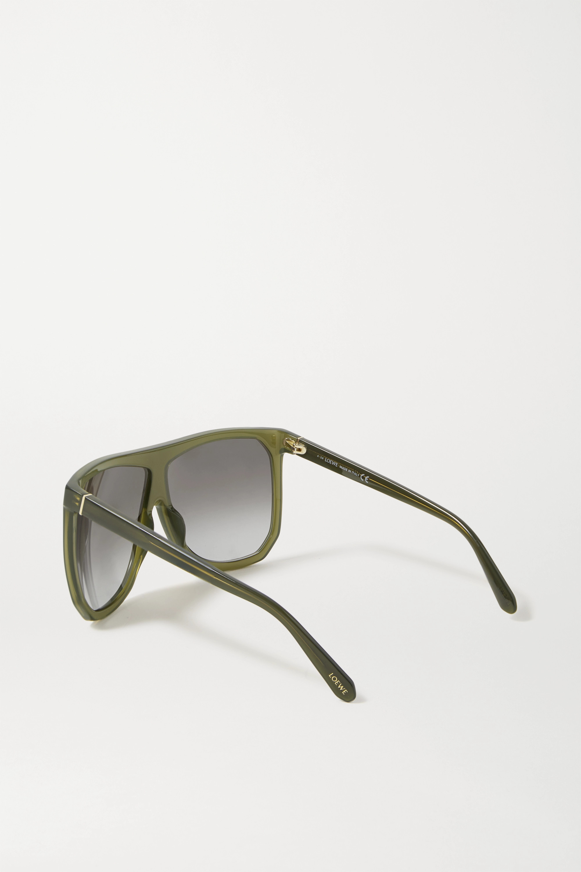 Loewe Filipa Oversized-Sonnenbrille mit D-Rahmen aus Azetat