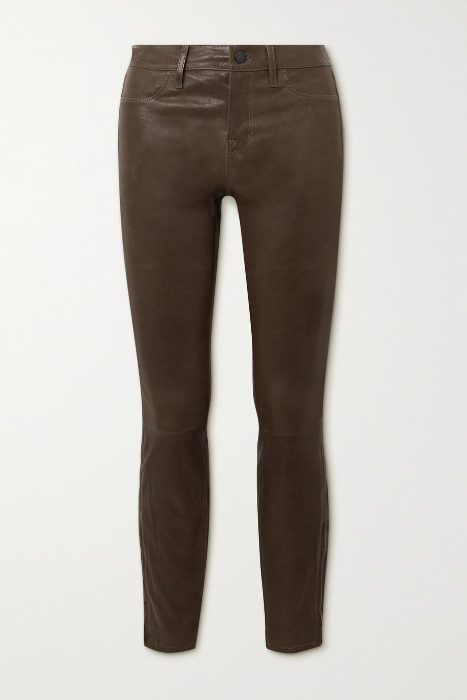 J Brand Eng geschnittene Hose aus Leder
