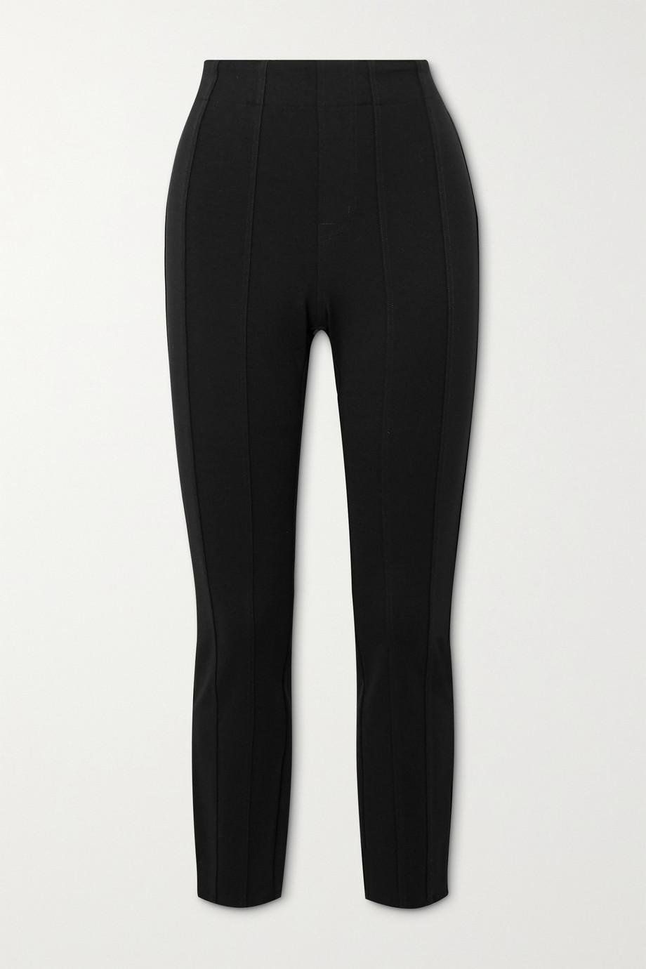 J Brand Dellah stretch-ponte leggings