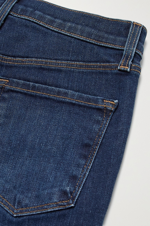 J Brand Teagan high-rise straight-leg jeans