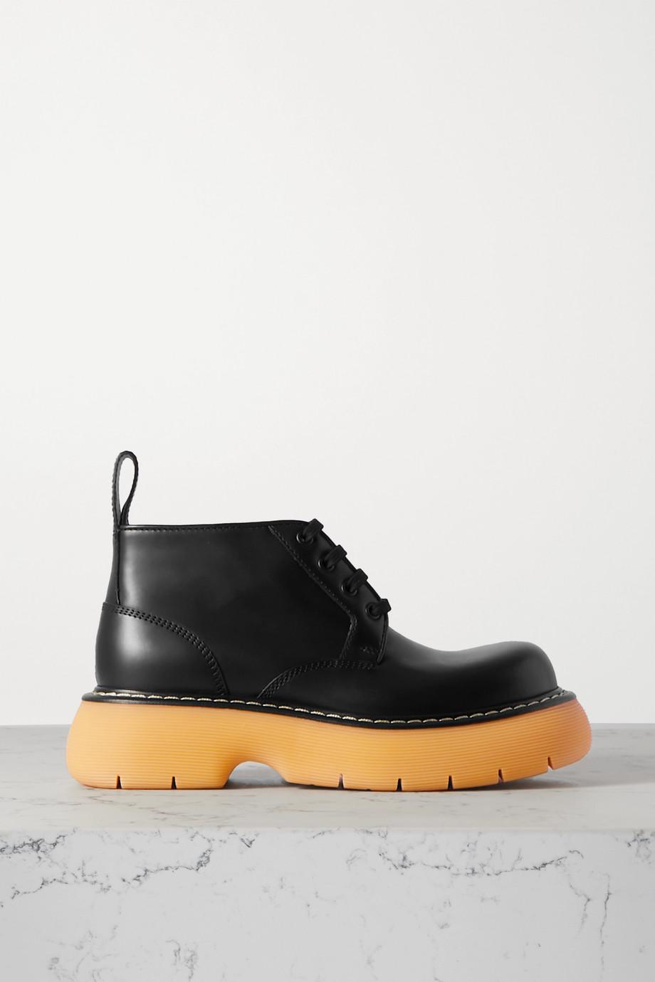 Bottega Veneta The Bounce leather ankle boots