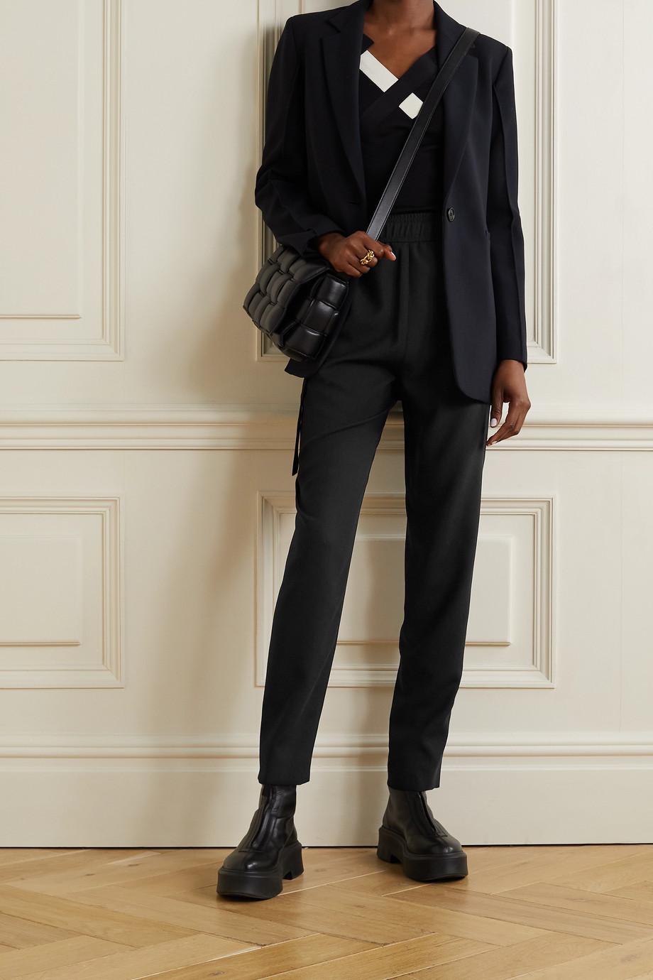 Akris Christian wool-blend tapered pants