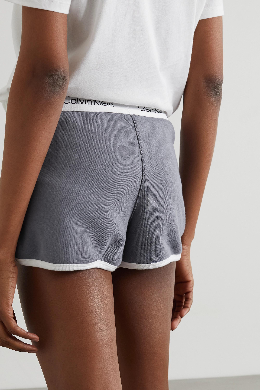 Calvin Klein Underwear Printed cotton-jersey pajama set