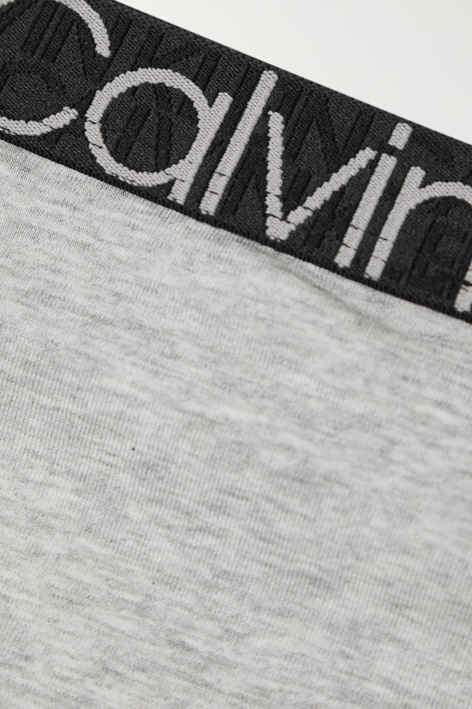 Calvin Klein Underwear Stretch cotton-blend jersey thong