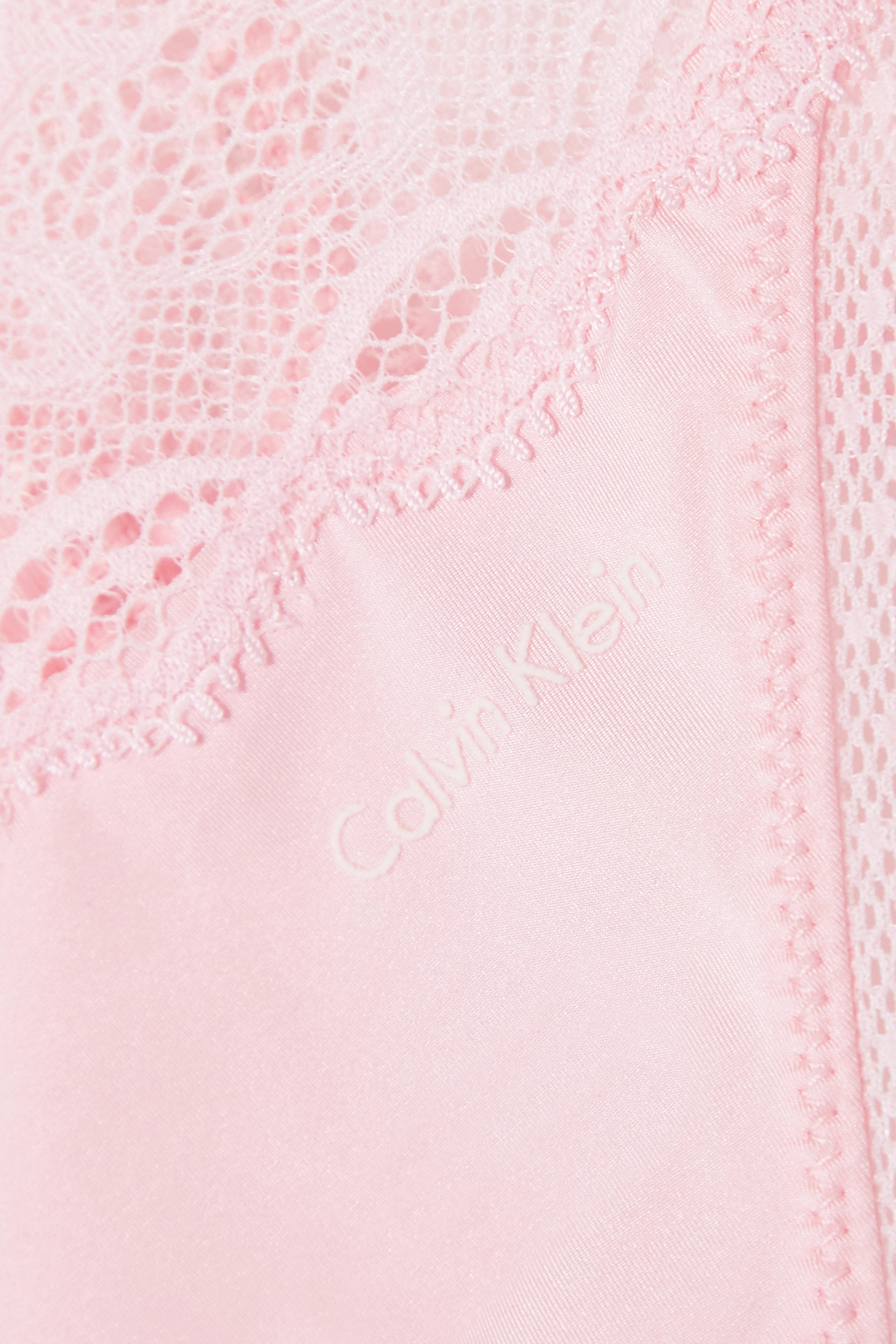 Calvin Klein Underwear Seductive Comfort stretch-lace and jersey thong