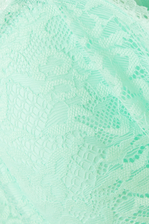 Calvin Klein Underwear CK One stretch-lace underwired balconette bra