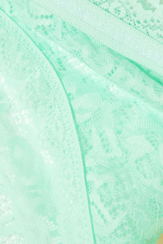 Calvin Klein Underwear CK One stretch-lace briefs