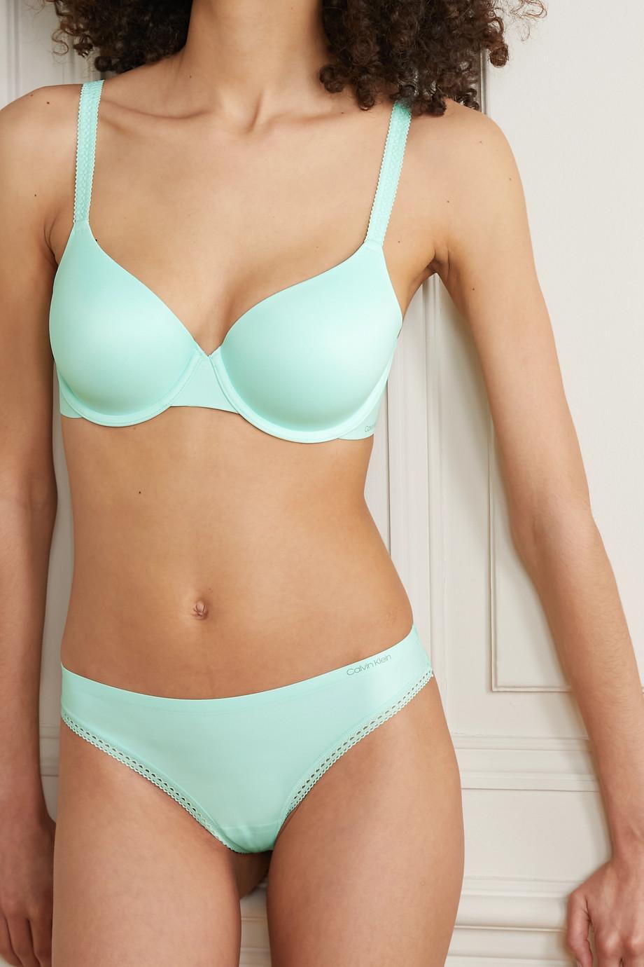Calvin Klein Underwear Liquid Touch stretch-jersey underwired bra