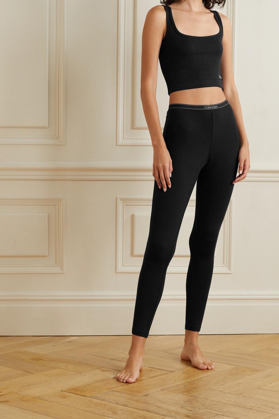 Calvin Klein Underwear Leggings aus Jersey aus Stretch-Modal