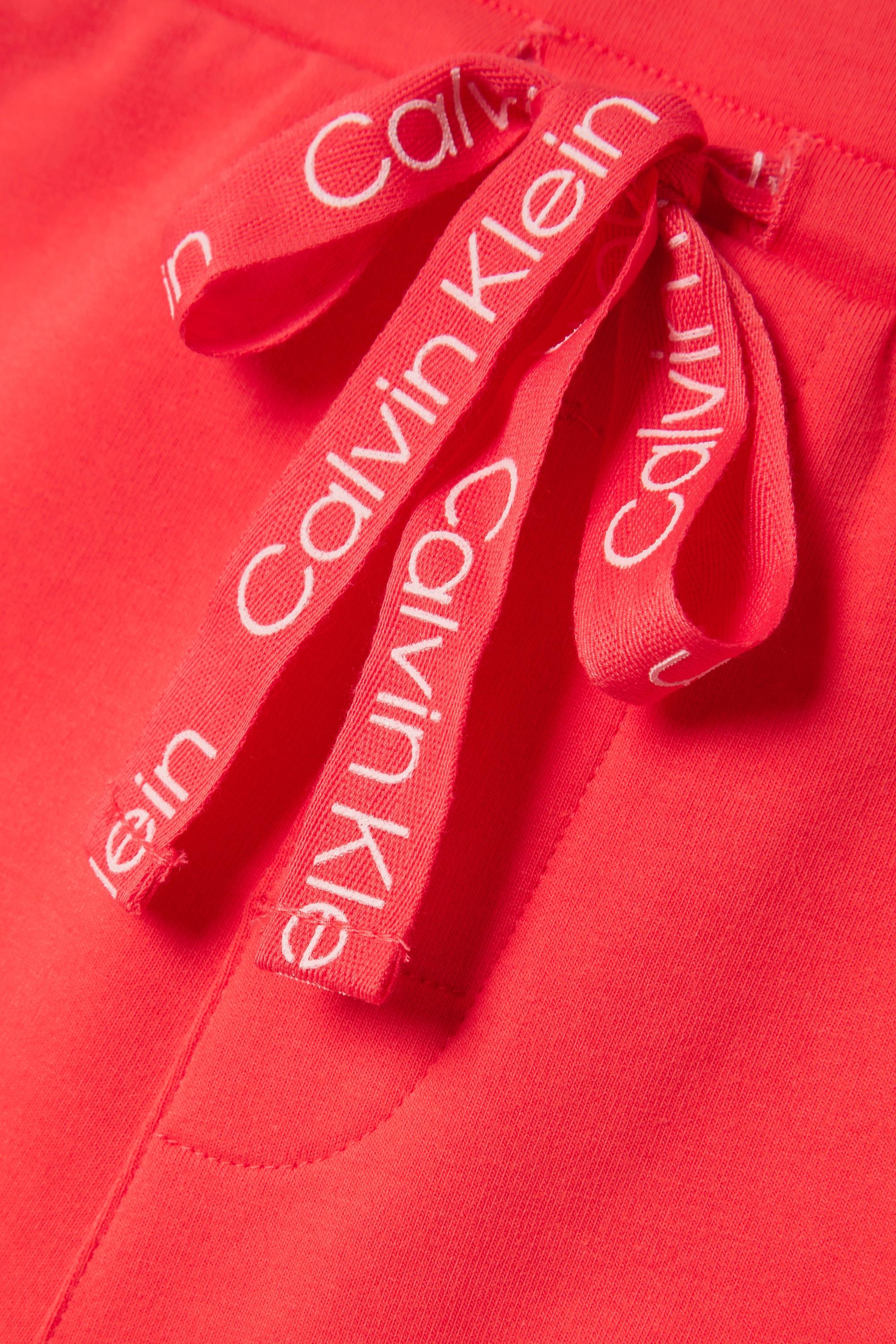 Calvin Klein Underwear Cotton-blend jersey pajama shorts