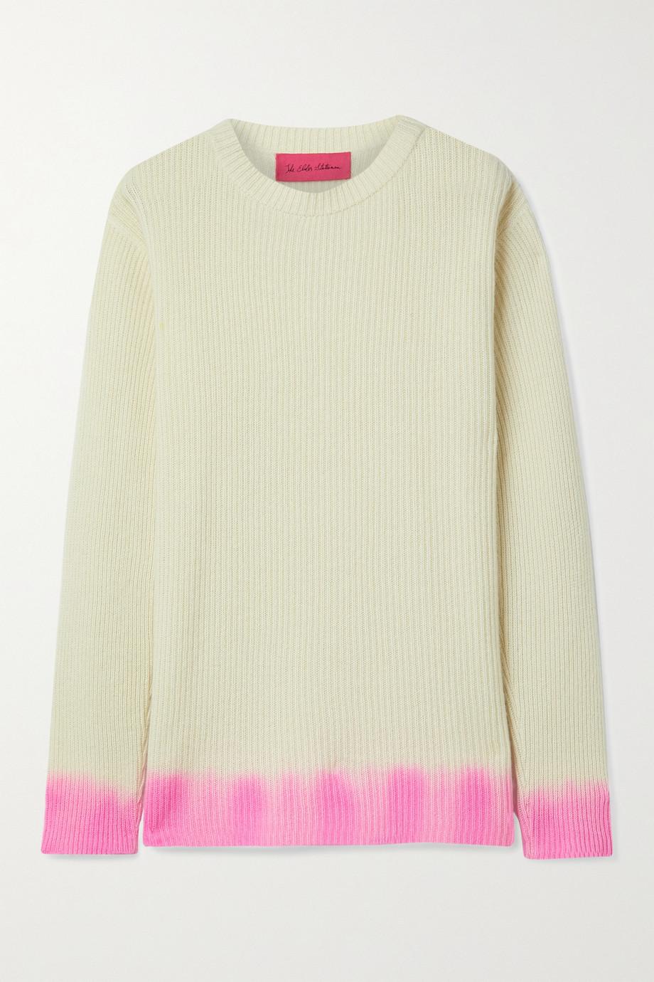 The Elder Statesman Ombré cashmere sweater