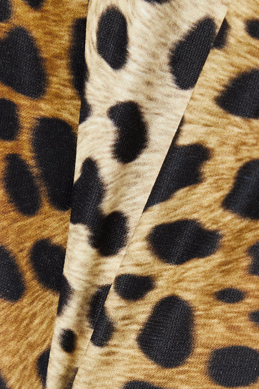 Melissa Odabash Bora Bora animal-print swimsuit
