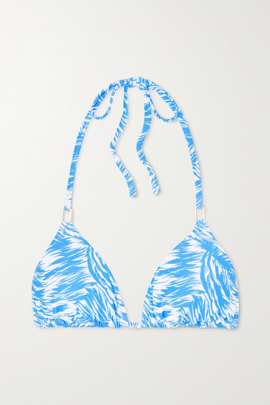 Melissa Odabash Cancun Triangel-Bikini-Oberteil mit Print