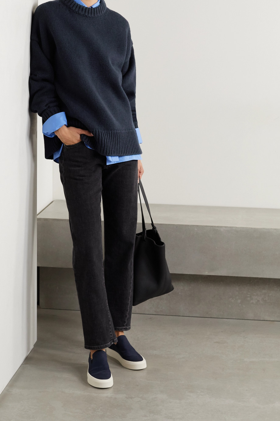 The Row Ophelia Pullover aus einer Woll-Kaschmirmischung