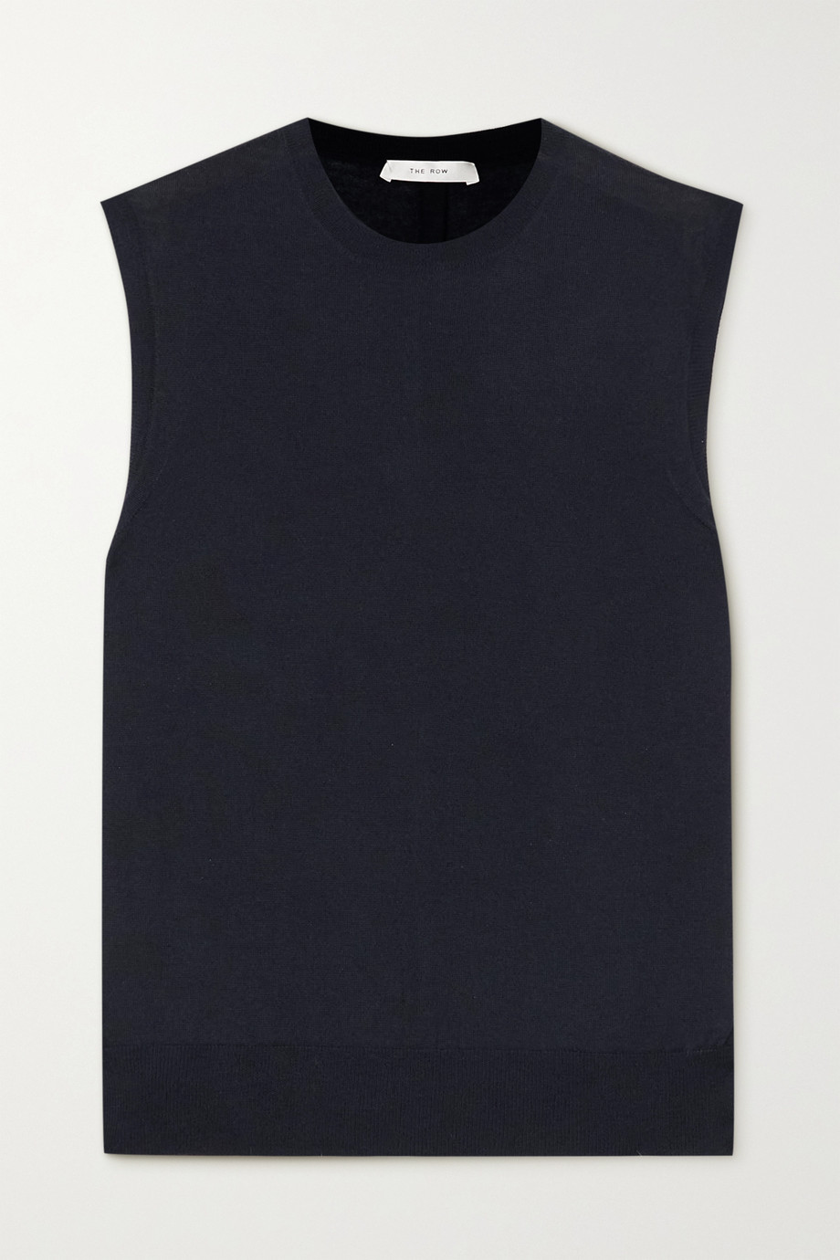 The Row Balham cashmere top