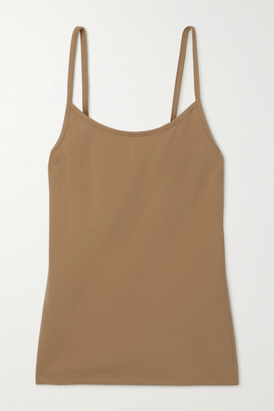 The Row Tanks BRIXTON STRETCH-JERSEY CAMISOLE