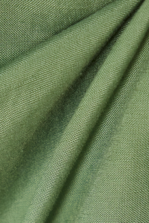 BONDI BORN + NET SUSTAIN x LG Electronics belted linen mini dress