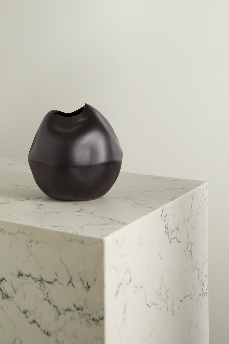 Completedworks + Ekaterina Bazhenova Yamasaki Banned Book No. 2 ceramic vase