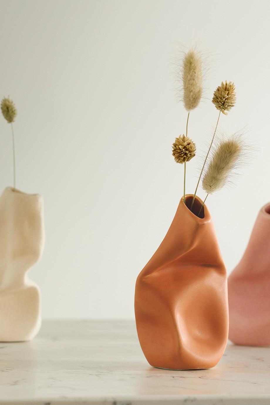 Completedworks Vase en céramique Yesterday is History x Ekaterina Bazhenova Yamasaki