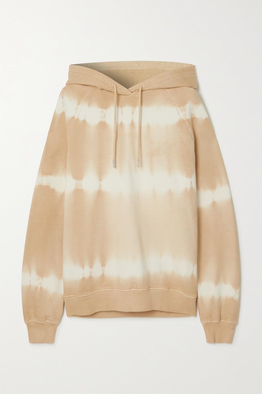 Ninety Percent + NET SUSTAIN tie-dyed organic cotton-jersey hoodie