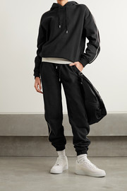 Ninety Percent + NET SUSTAIN organic cotton-jersey track pants