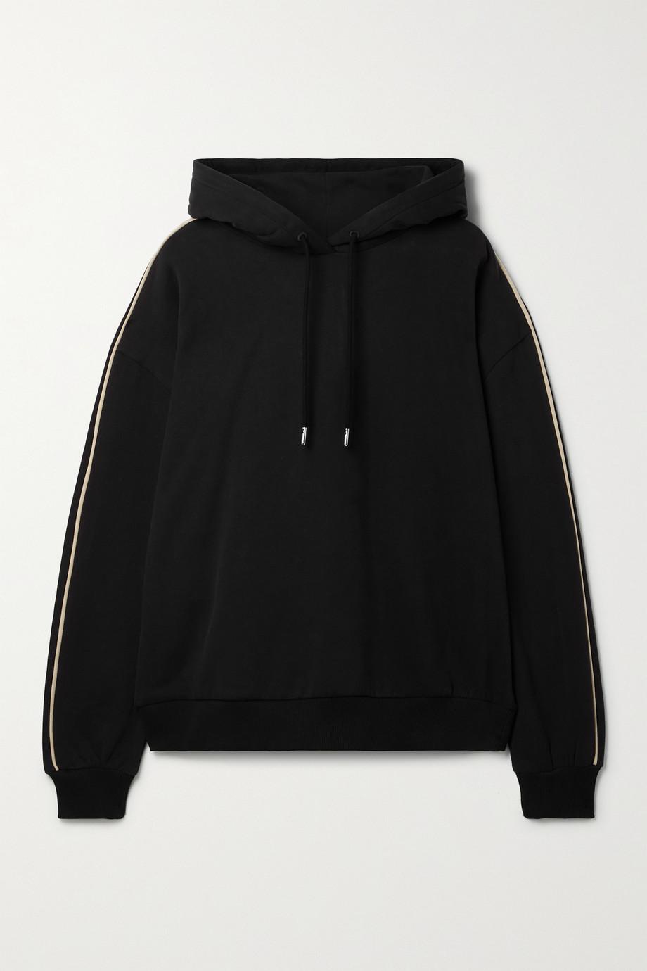 Ninety Percent + NET SUSTAIN organic cotton-jersey hoodie