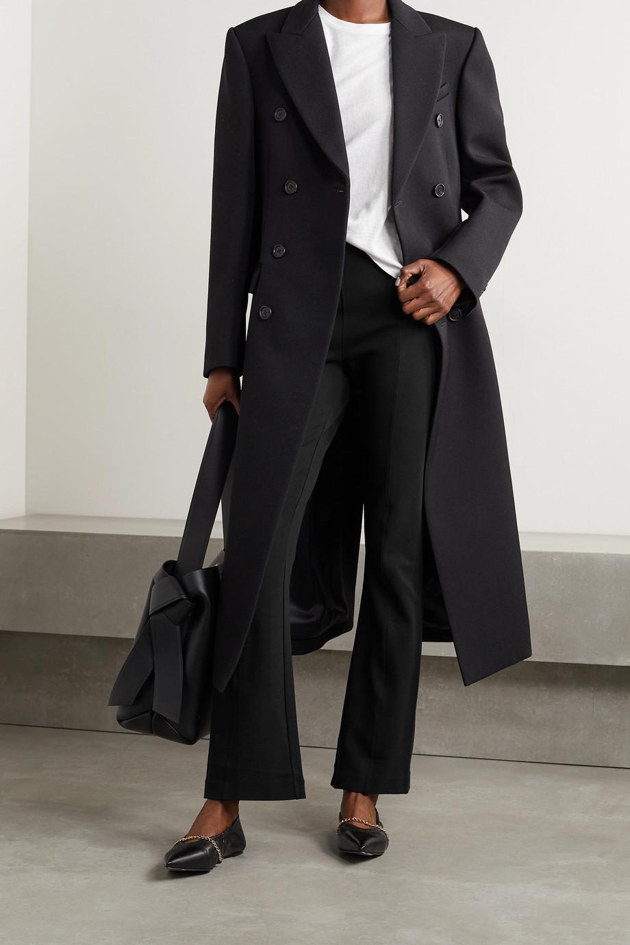 Ninety Percent 【NET SUSTAIN】有机棉质混纺平纹布喇叭裤