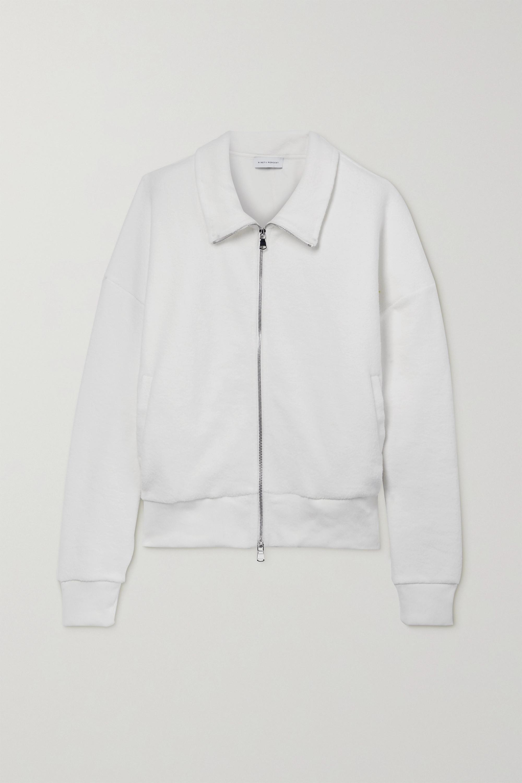 Ninety Percent + NET SUSTAIN Oversized-Jacke aus Biobaumwollfleece