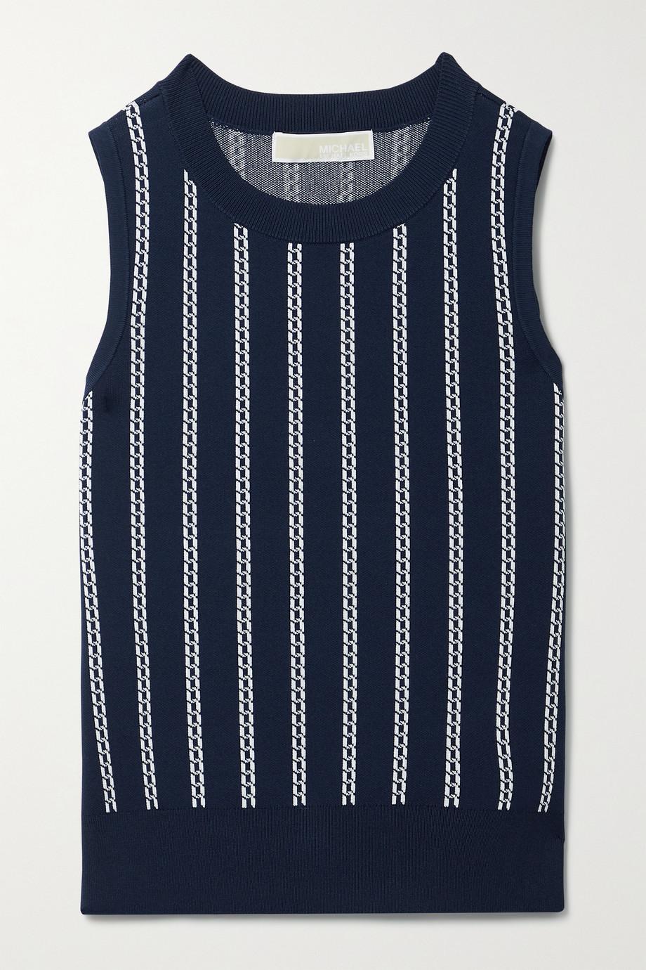 MICHAEL Michael Kors Jacquard-knit tank
