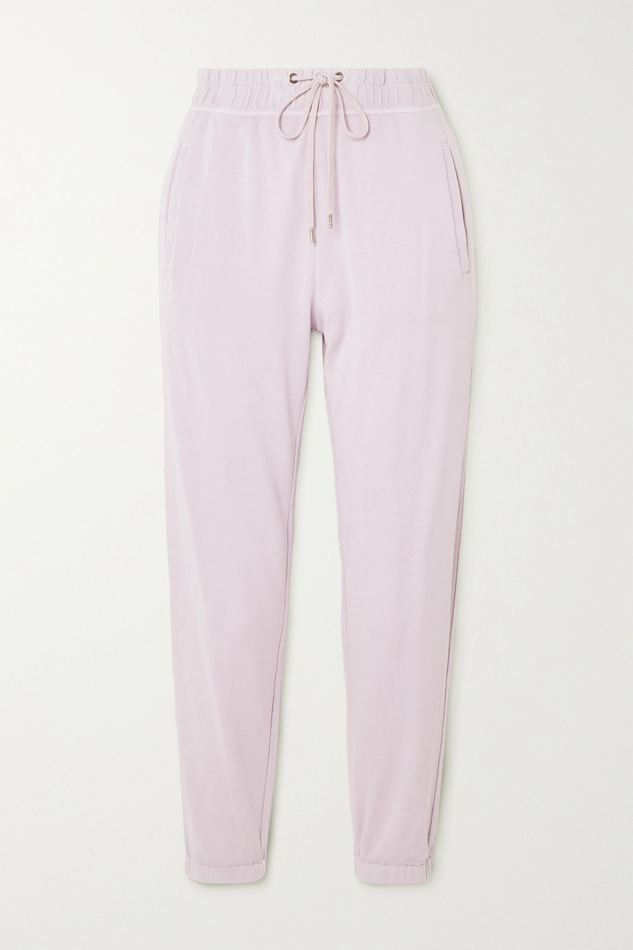 James Perse Supima cotton-terry track pants