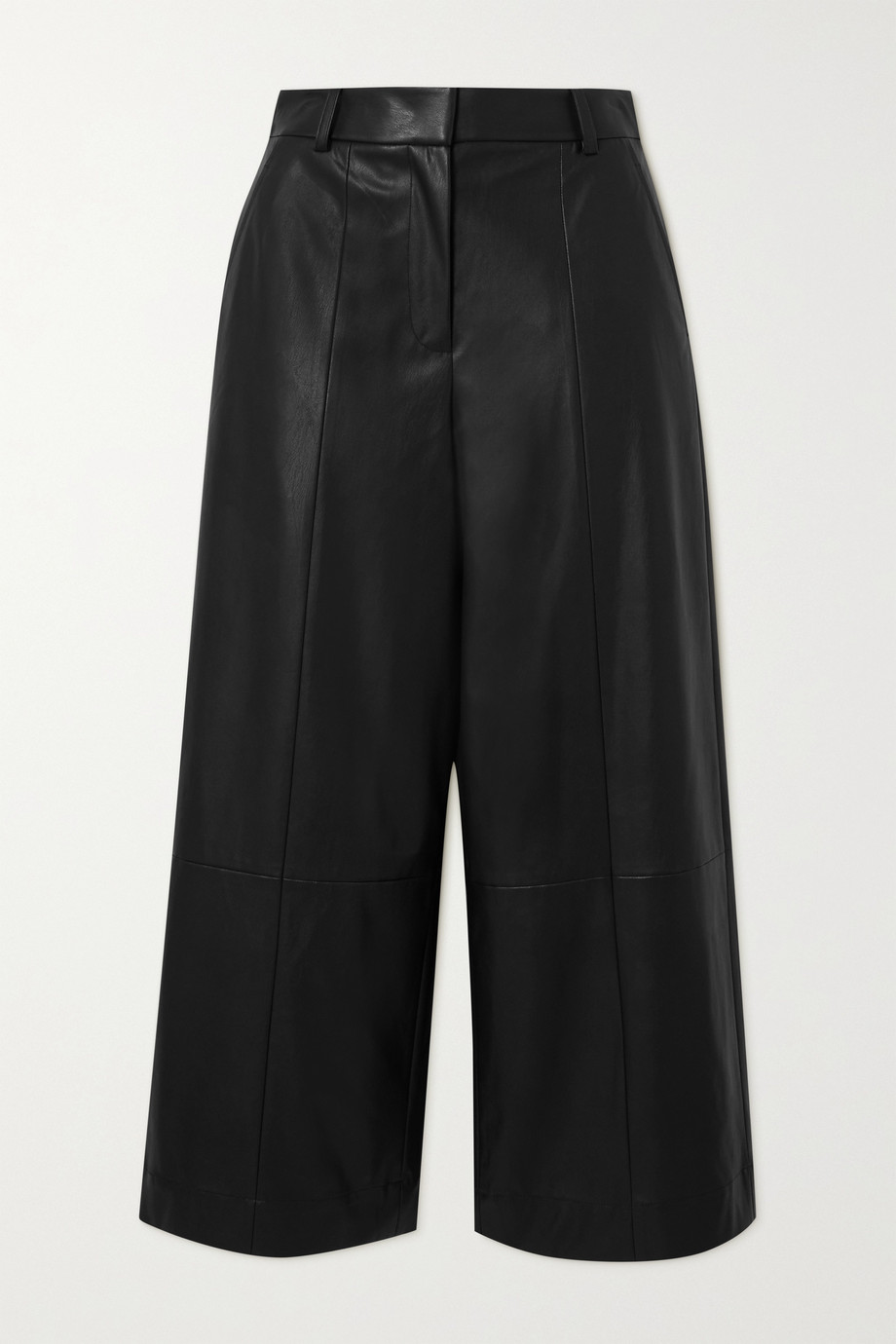 Jason Wu Belted faux leather wide-leg pants