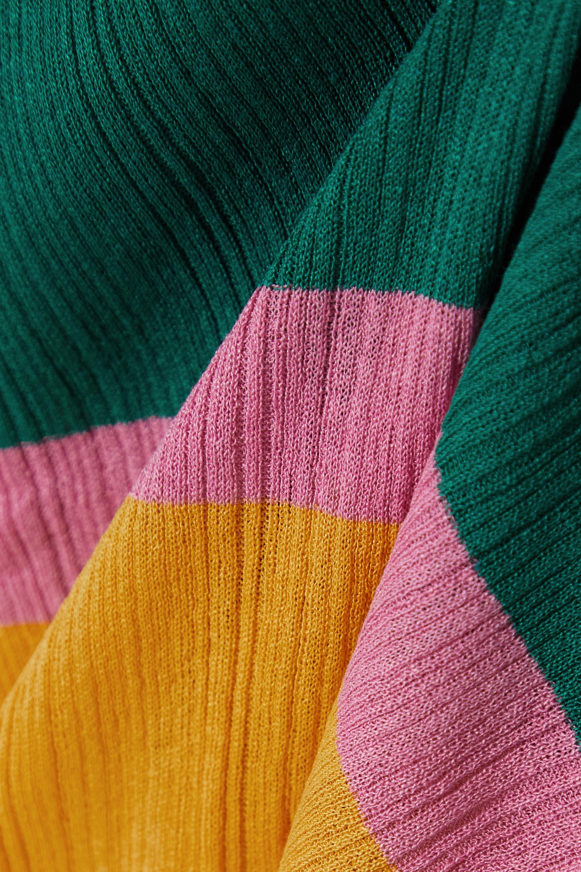 Missoni Oberteil aus Rippstrick mit Streifen