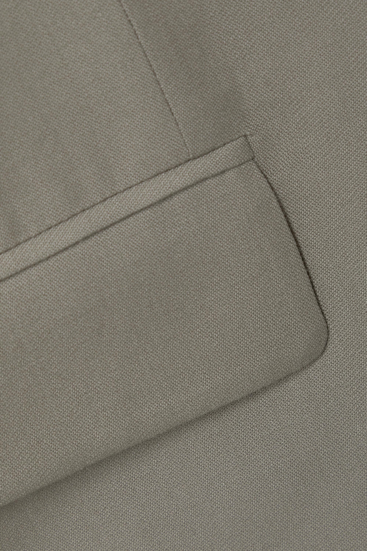 LOW CLASSIC Layered wool and organza blazer