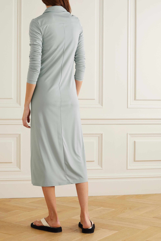 LOW CLASSIC Jersey midi shirt dress