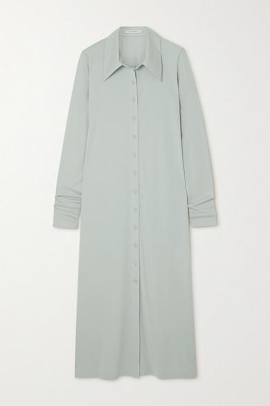 Low Classic Midi dresses JERSEY MIDI SHIRT DRESS