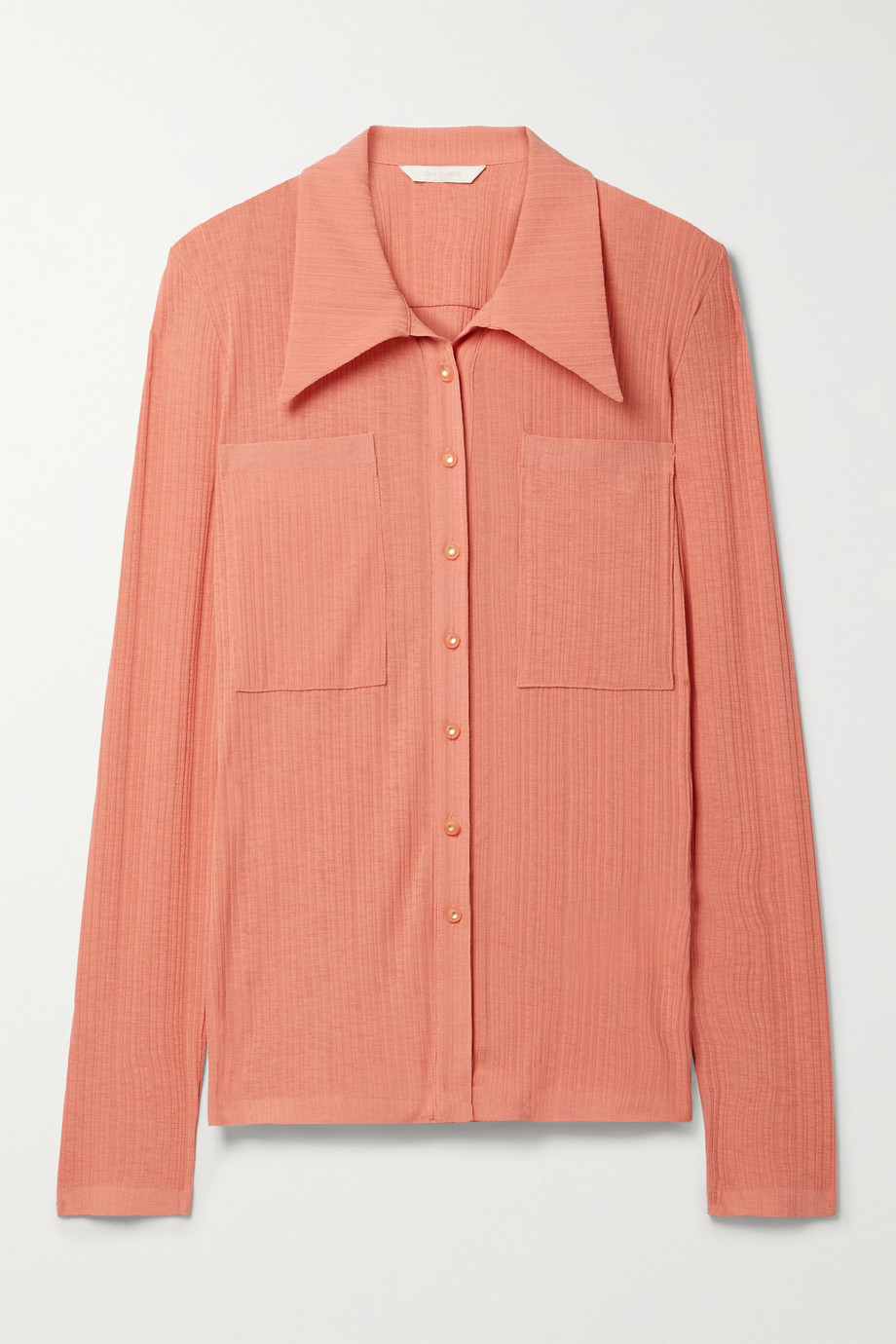 LOW CLASSIC Ribbed jersey shirt