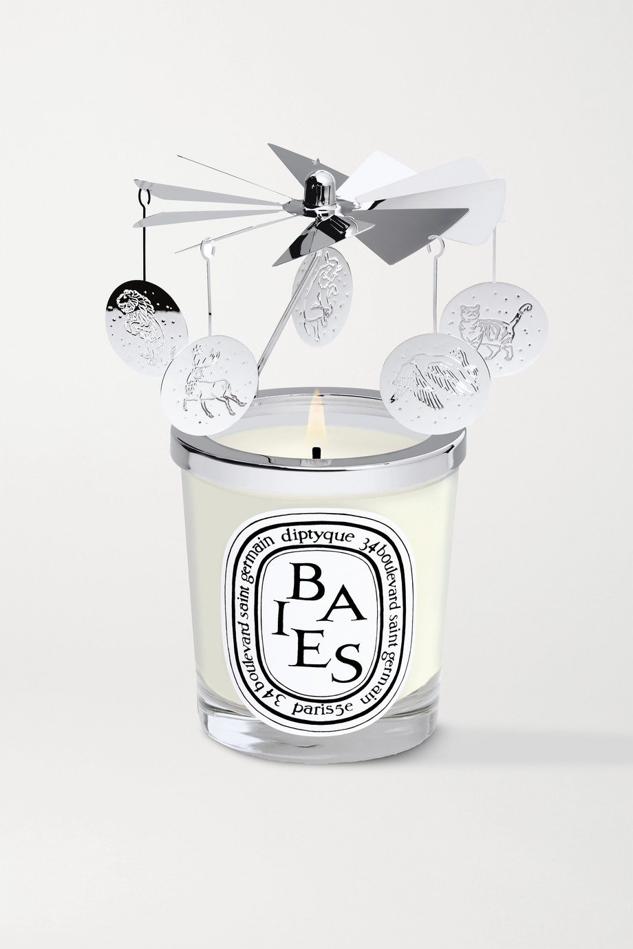 Diptyque Christmas carousel and scented candle set, 2 x 70g
