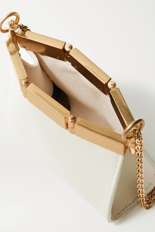 Oroton Cassia mini Schultertasche aus Leder