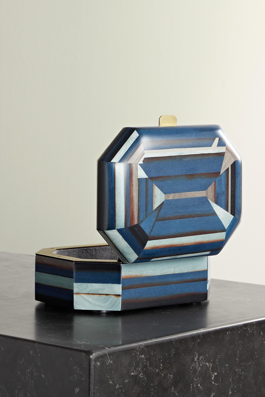 Silvia Furmanovich Boîte à bijoux en bois Marquetry