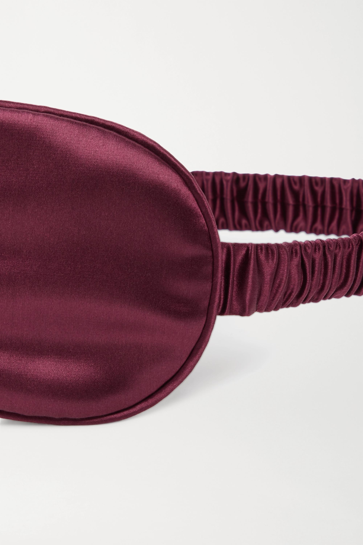 Slip Schlafmaske aus Seide