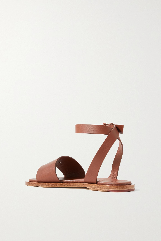 Loro Piana Thirasia leather sandals