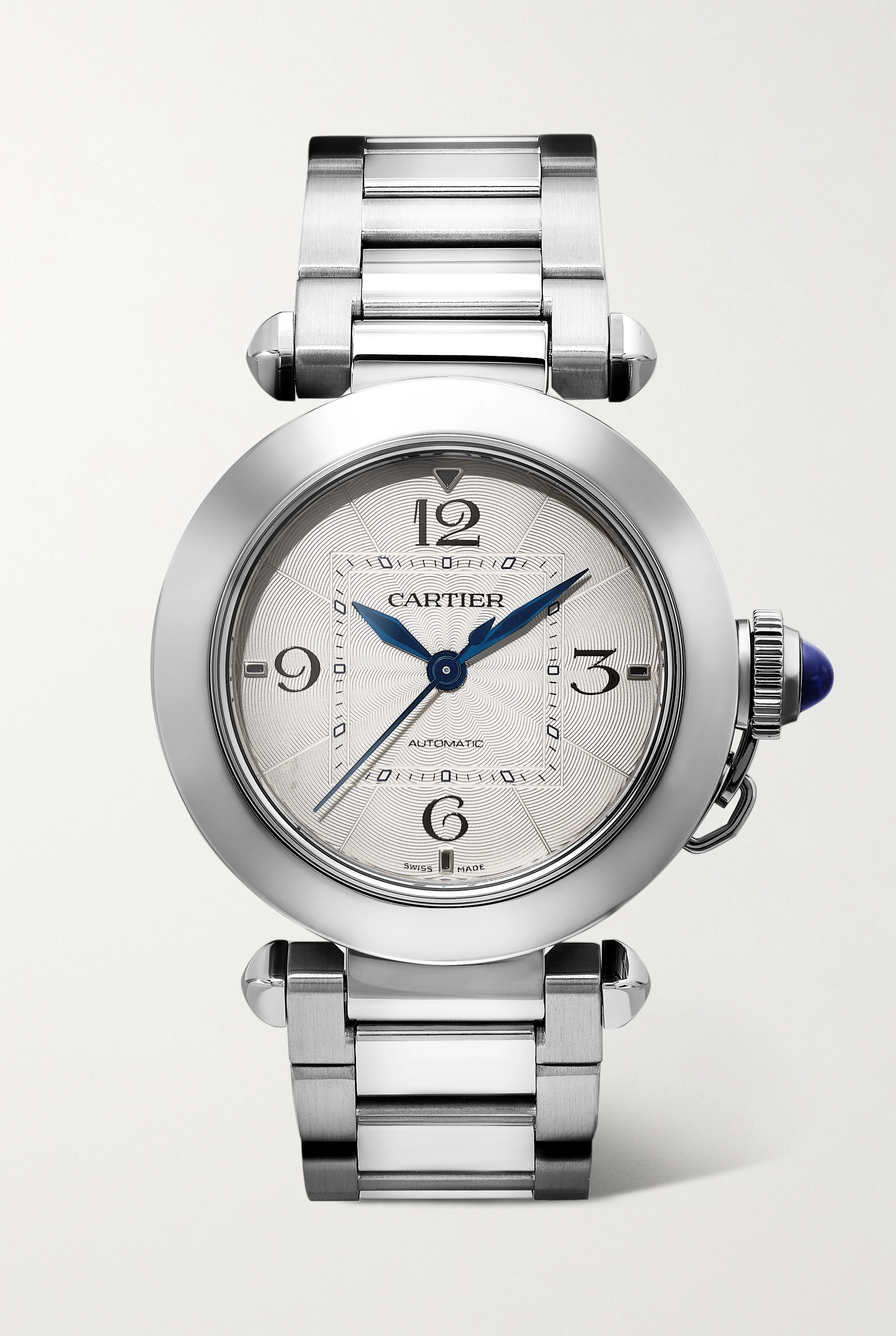 Cartier Pasha de Cartier Automatic 35mm stainless steel watch