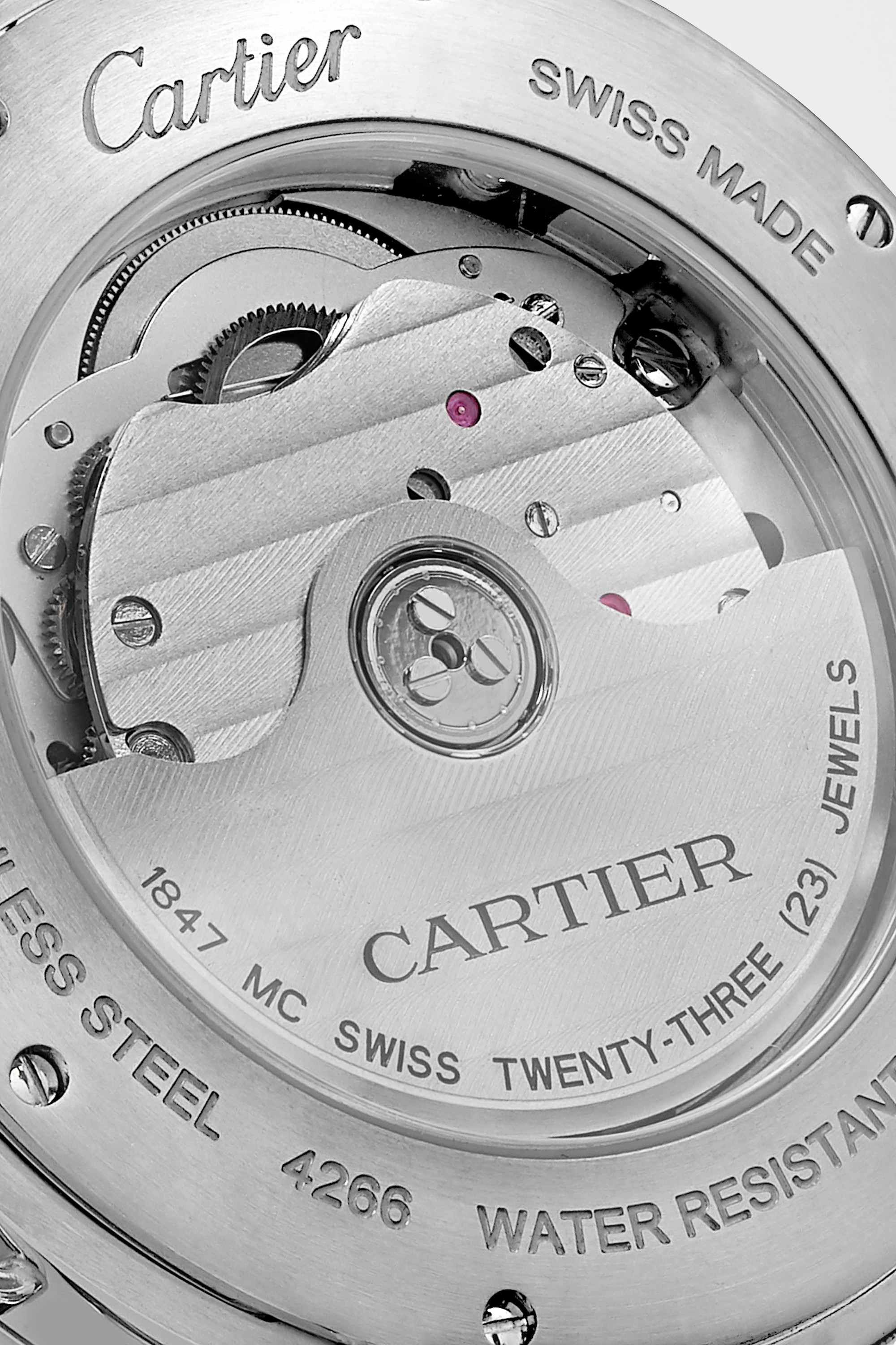 Cartier Pasha de Cartier Automatic 41mm stainless steel watch
